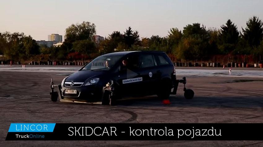 SKIDCAR – kontrola pojazdów